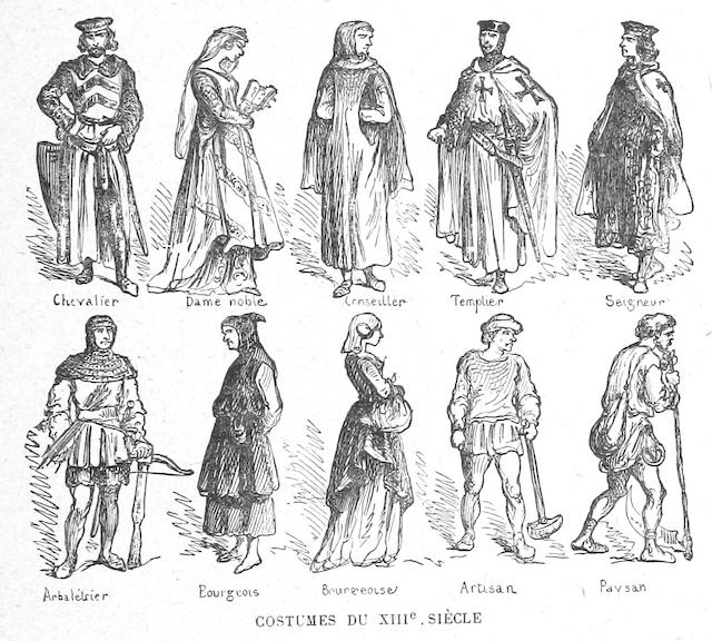 13th Century Clothing