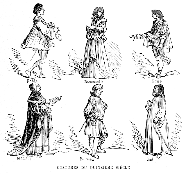 15th Century Clothing