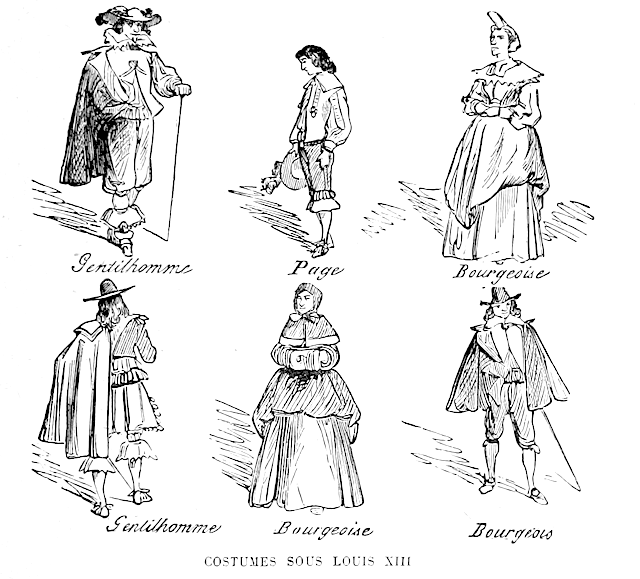Clothing during the reign of King Louis XIII