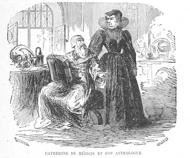 Catherine de Medicis et son astrologue