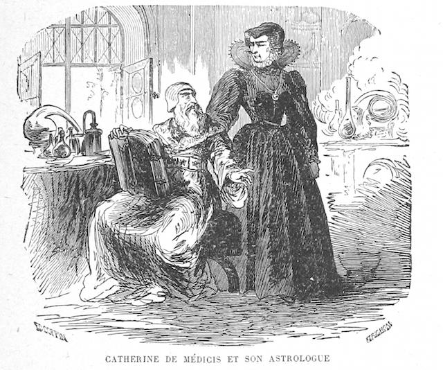 Catherine de Medicis et son astrologue